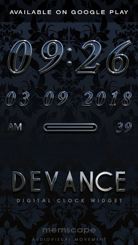 DEVANCE Poweramp skin 3.08 Screen 1