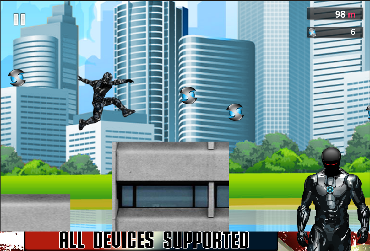 Android American Iron Avenger Screen 1