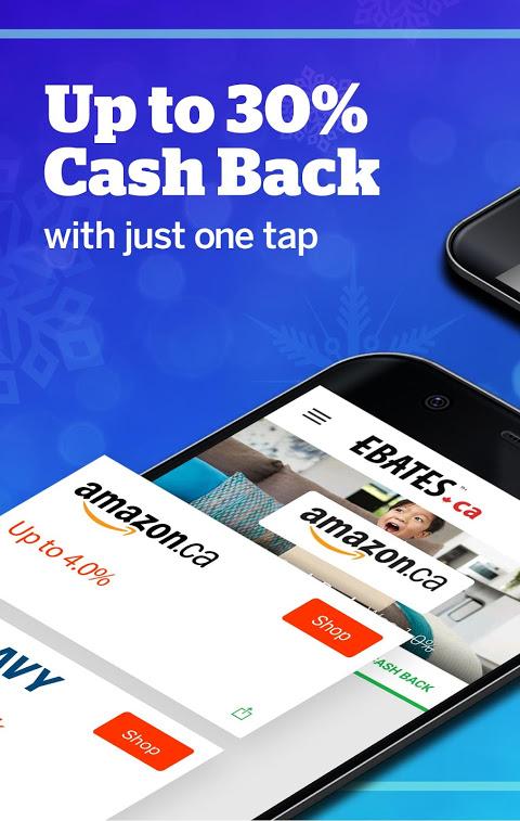 Ebates Canada: Shop Online & Earn Cash Back 5.0.0 Screen 1