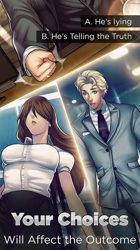 Android Otome: Is-it Love? Gabriel – Interactive Story Screen 7
