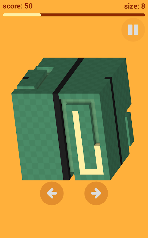 Android Voxel Snake 3D Screen 2