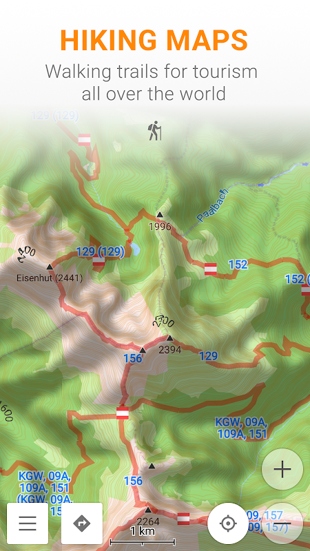 Android Maps & GPS Navigation OsmAnd+ Screen 5