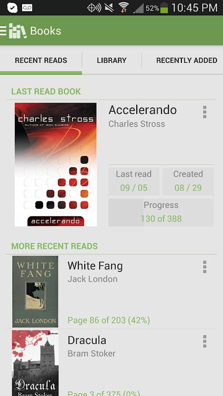 Aldiko Book Reader 3.1.3 Screen 4