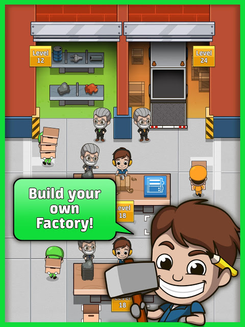 Idle Factory Tycoon 1.3.0 Screen 3