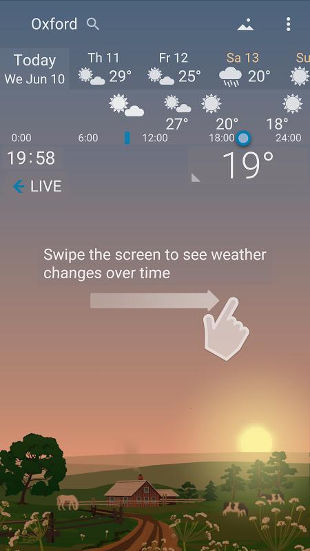 Precise Weather YoWindow 1.33.17 Screen 1