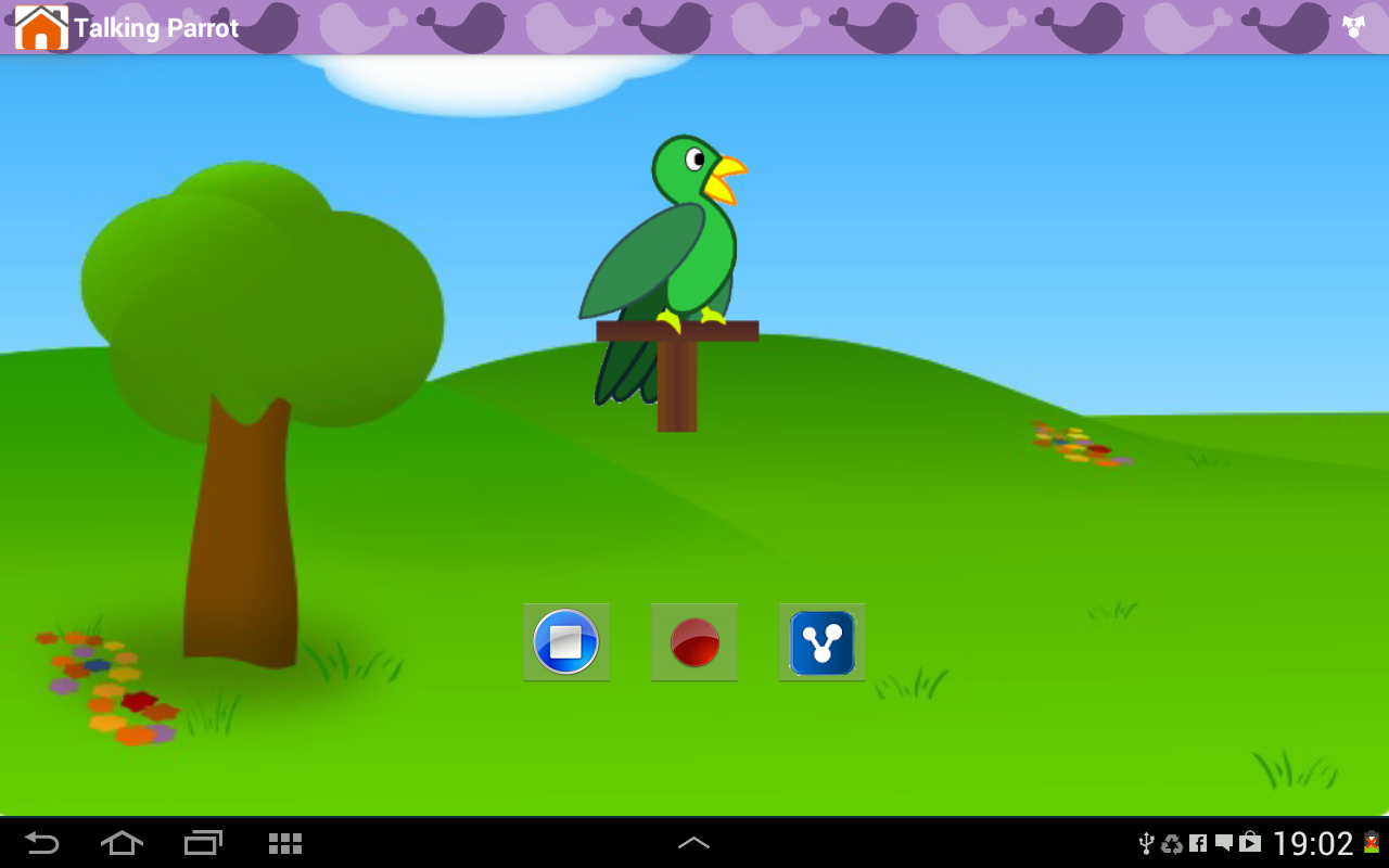 Android Animal Sounds & Talking Parrot Screen 10