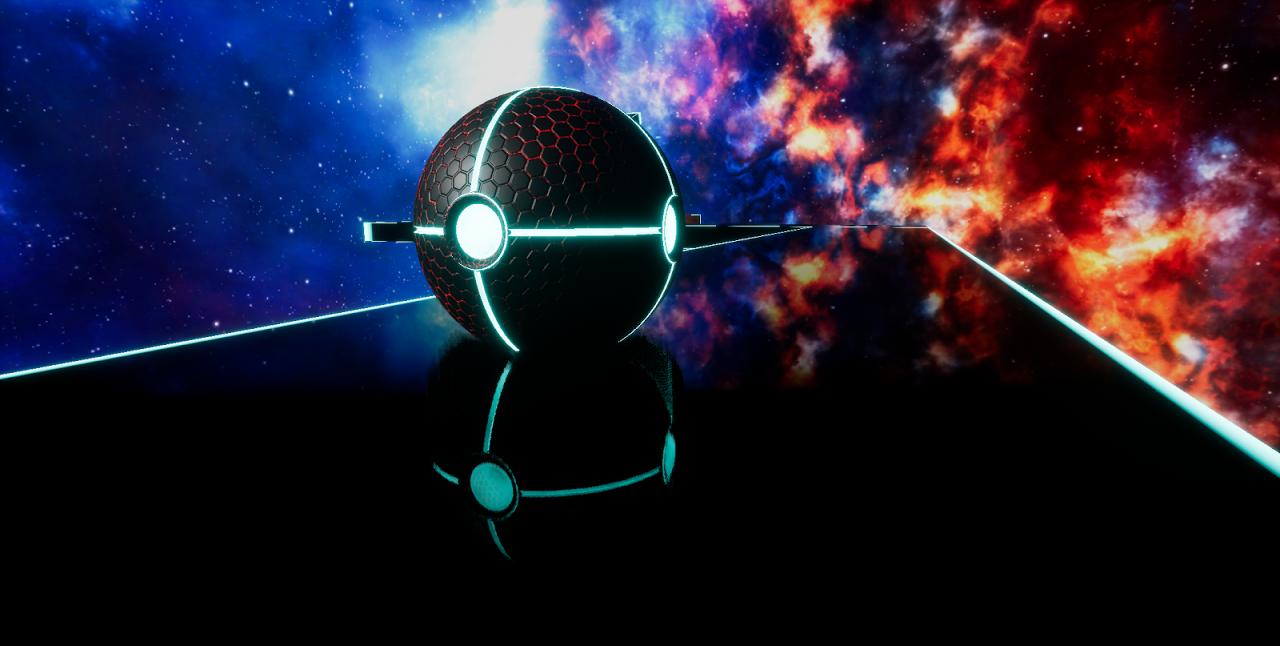 Android Balance Ball 3D : TRON Screen 1