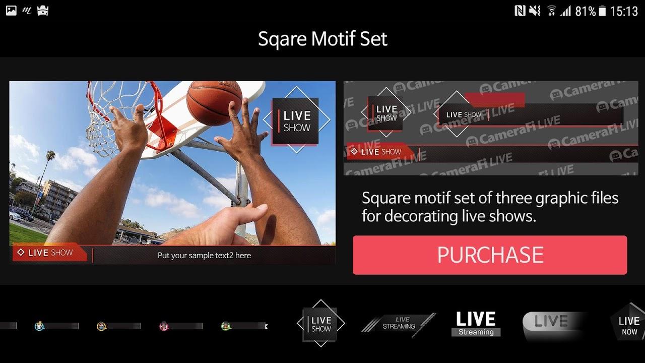 CameraFi Live 1.9.33.0928 Screen 14