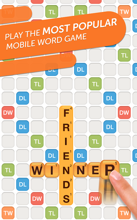 Android Words With Friends 2 – Free Word Games & Puzzles Screen 1