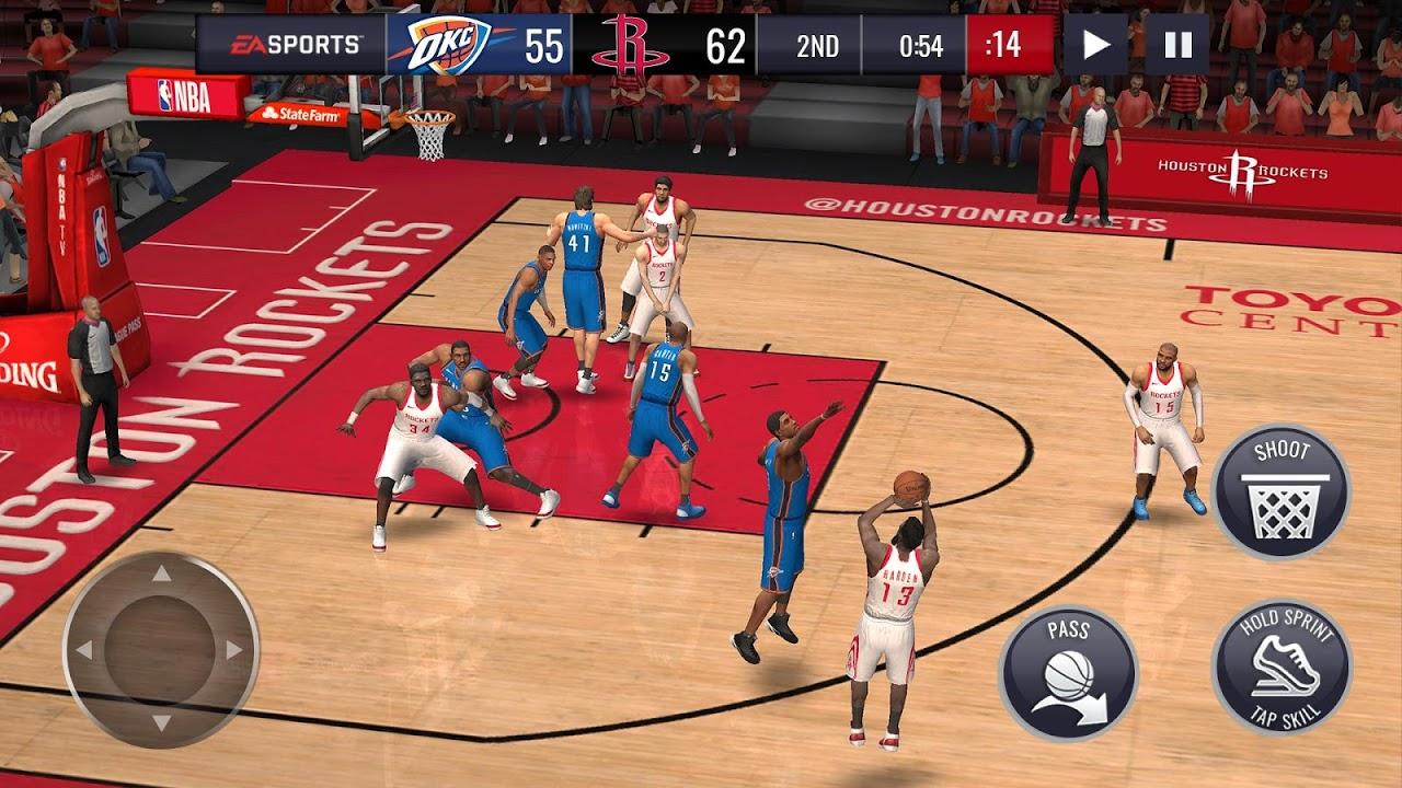 Android NBA LIVE Mobile Basketball Screen 1