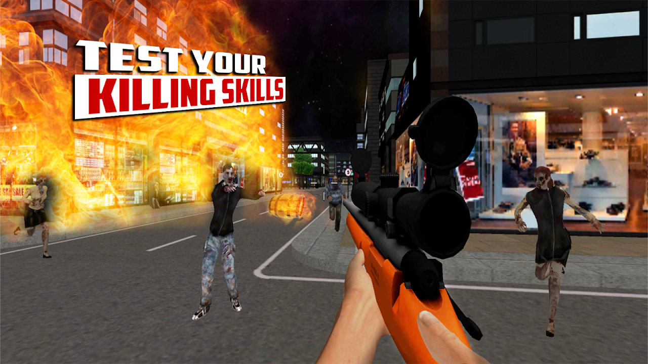 Android City Hunter 3D Zombie Killer Screen 3
