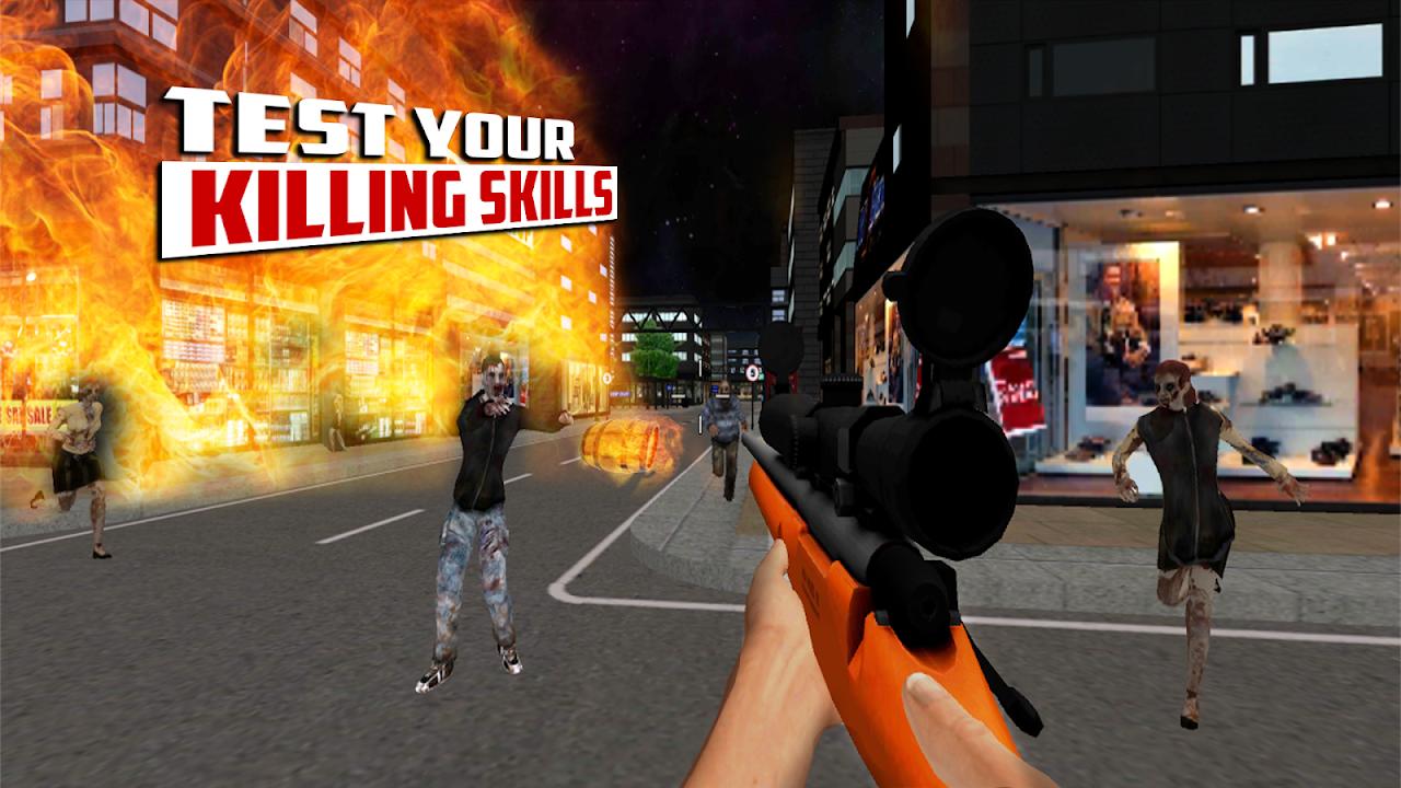 City Hunter 3D Zombie Killer 1.0 Screen 3
