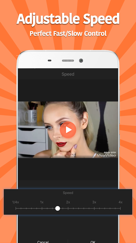 Android VivaVideo: Free Video Editor Screen 6