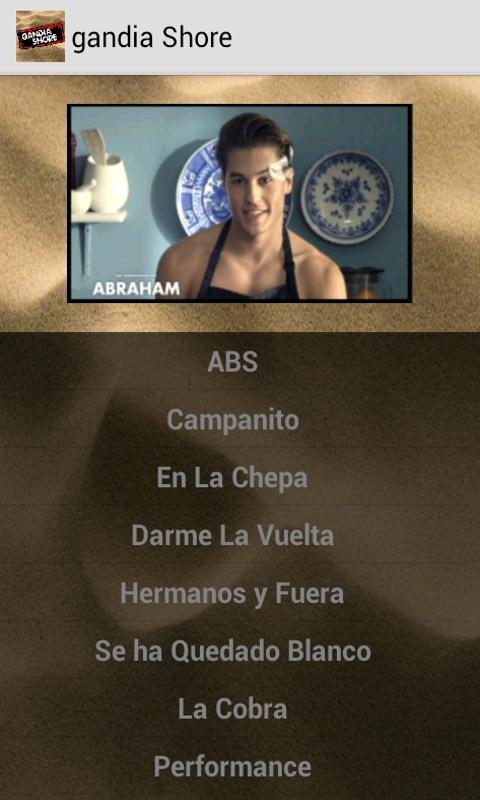 Android Frases Gandia Shore - MTV Screen 1