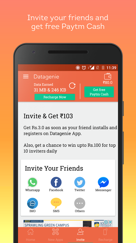 Datagenie 1 1 APK Download by U2opia Mobile Pte   Android APK