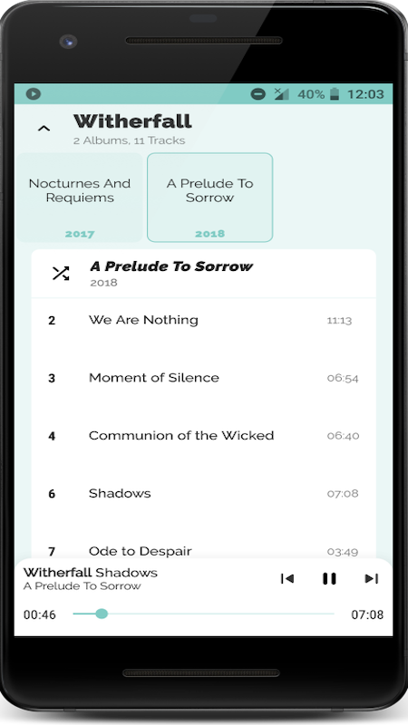 Music Player for Android 8.3.3 Screen 3
