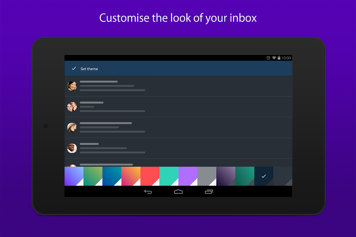 Android Yahoo Mail – Stay Organized Screen 7