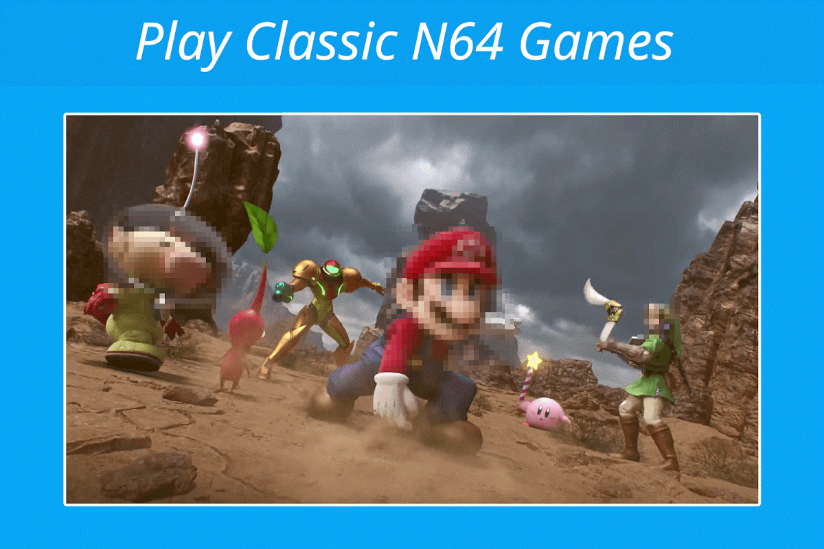 Android N64 Emulator Screen 2