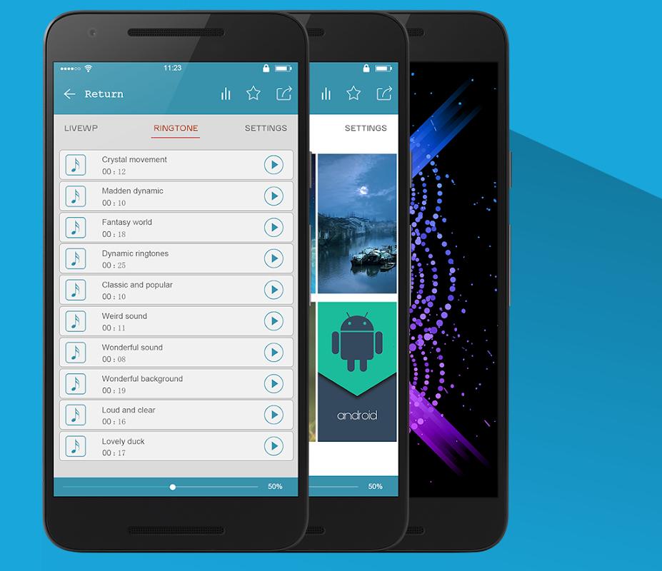 Android Super Popular Ringtone Ranking Screen 9