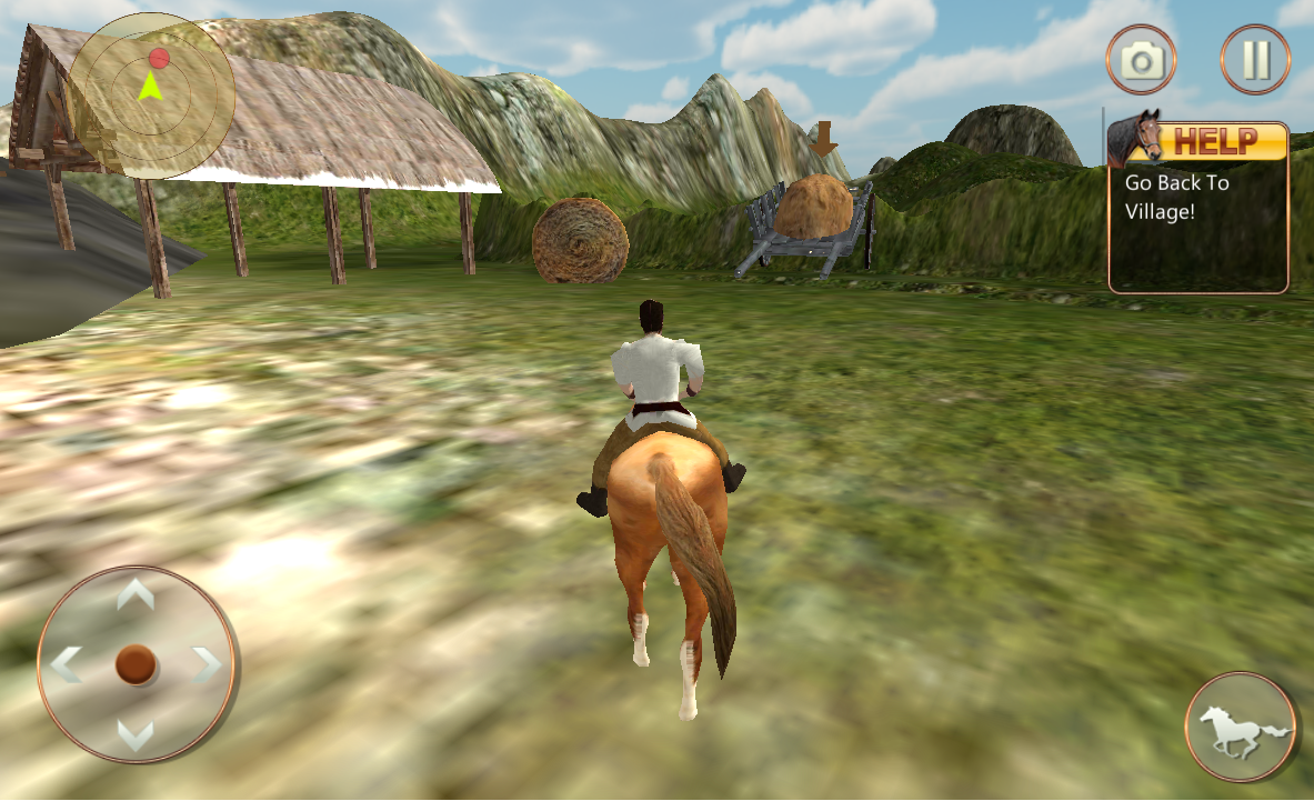 Android Life of Horse - Wild Simulator Screen 3
