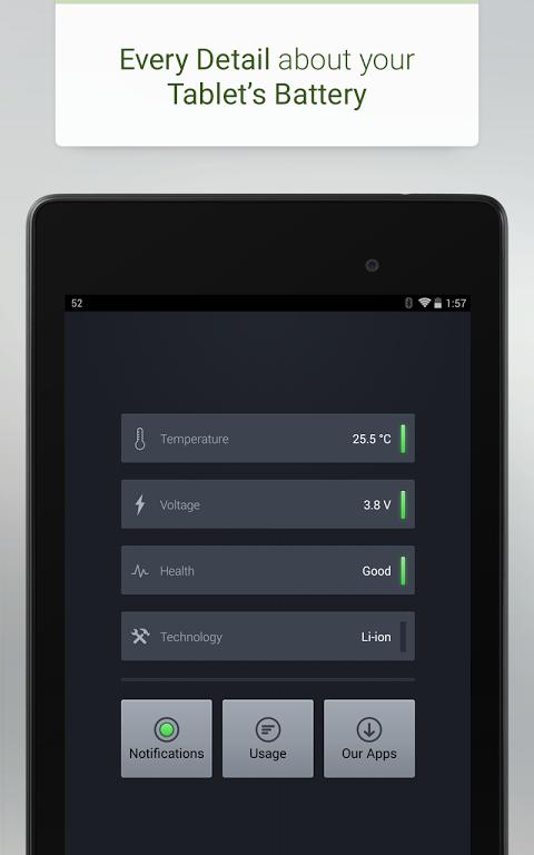 Battery 3.3 Screen 3