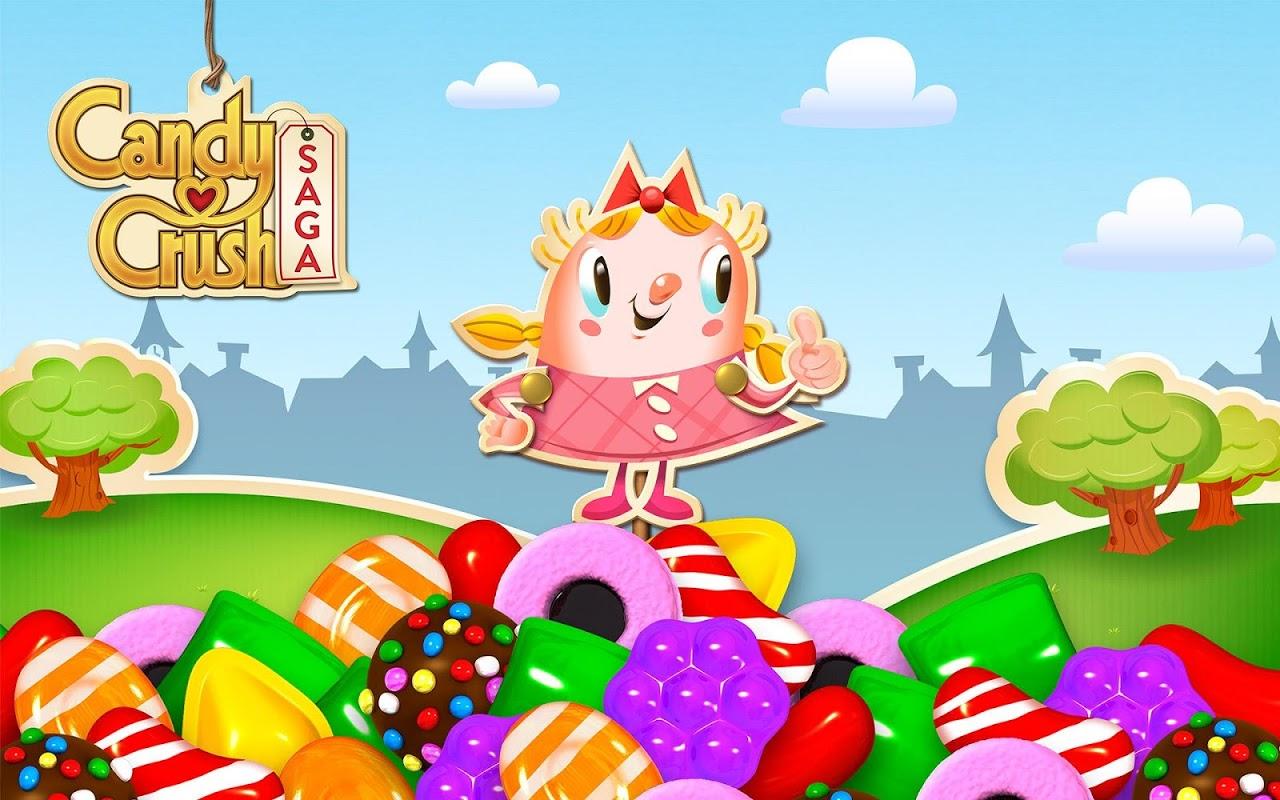 Android Candy Crush Saga Screen 5