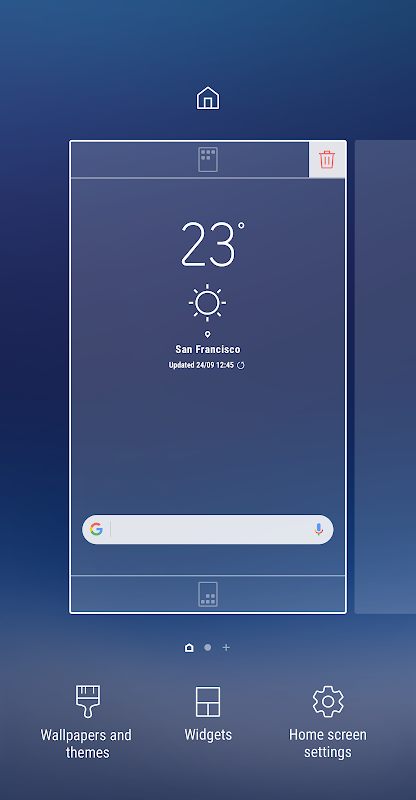 TouchWiz Home 6.1.55.0 Screen 3