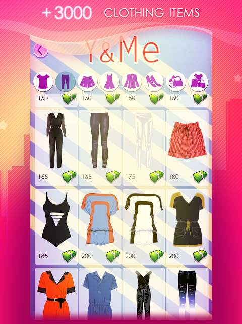Android World of Fashion - Dress Up Screen 6