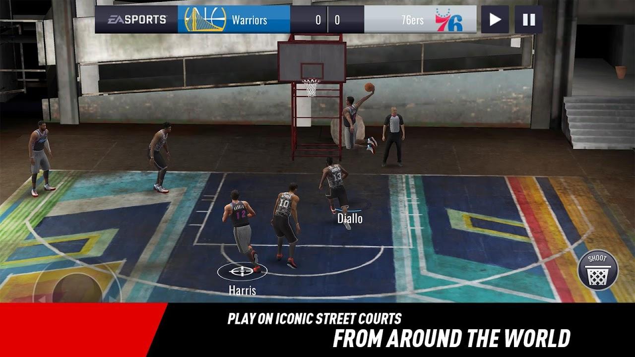 NBA LIVE Mobile Basketball 4.0.10 Screen 3