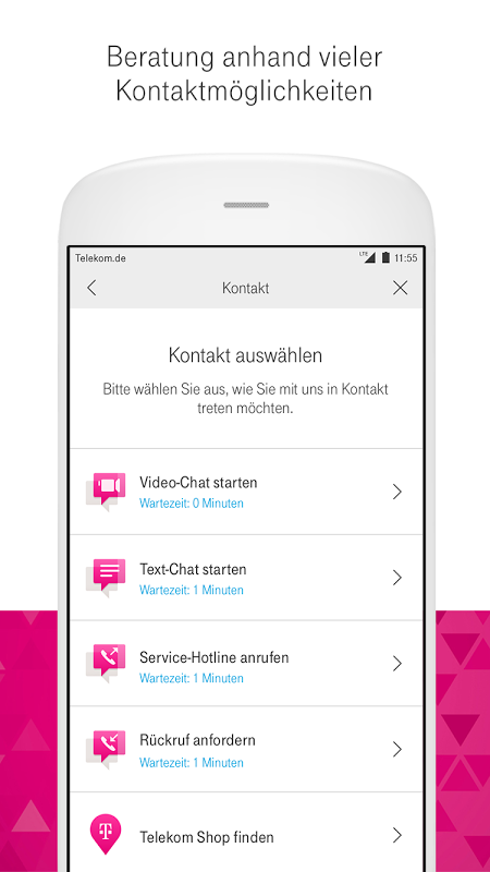 Android MagentaSERVICE Screen 6