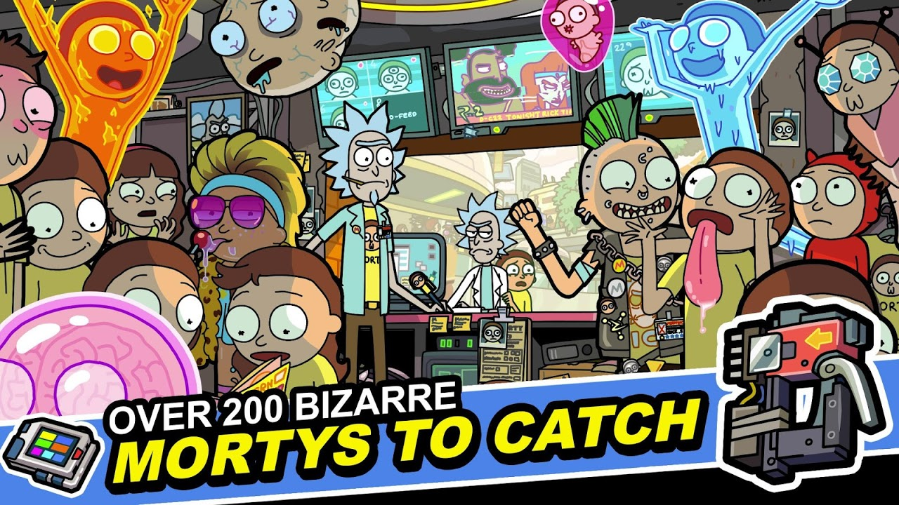 Android Pocket Mortys Screen 3