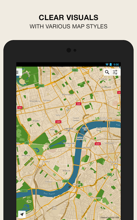 Android GPS Navigation & Maps - Scout Screen 12