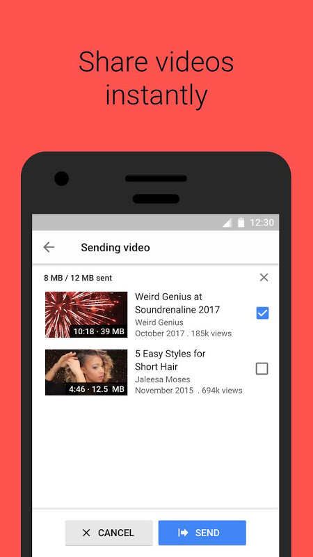 YouTube Go 1.38.55 Screen 4