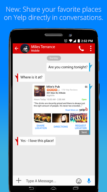 Android Verizon Messages Screen 4