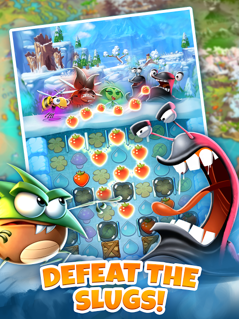 Android Best Fiends - Puzzle Adventure Screen 4