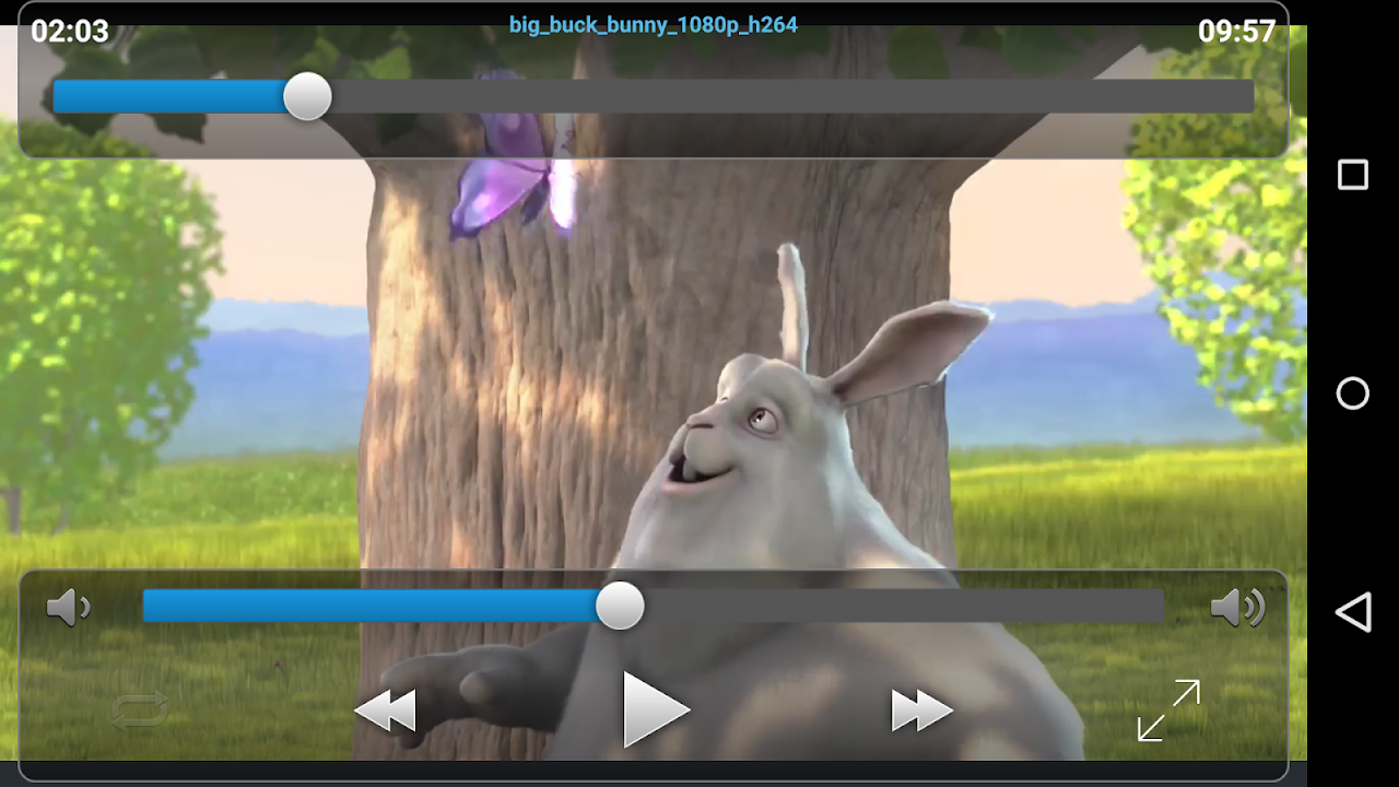 Android VLC Streamer Free Screen 7