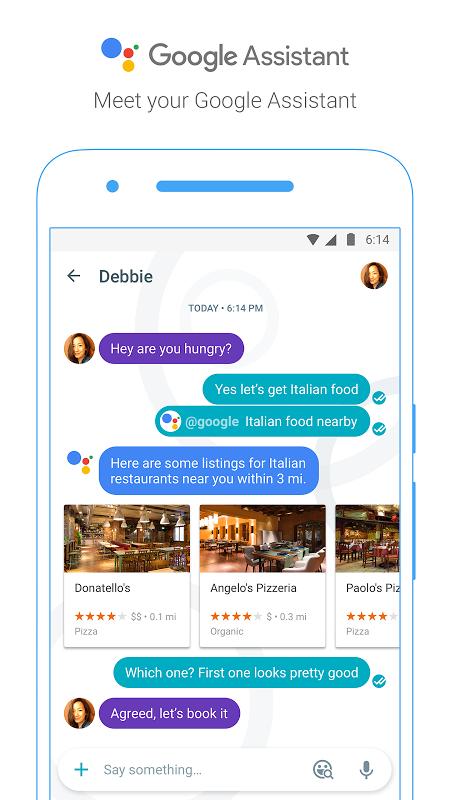 Android Google Allo Screen 4