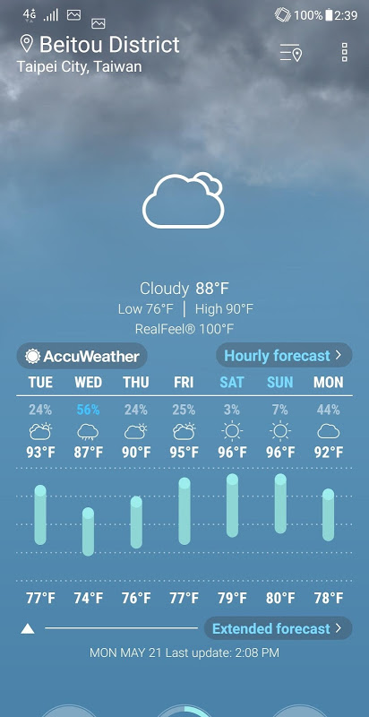 ASUS Weather 5.0.1.17_181213 Screen 3