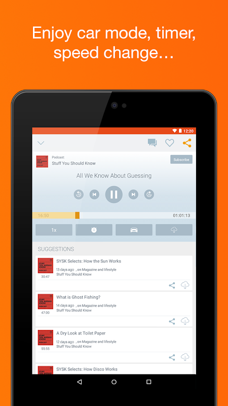 Podcast & Radio iVoox 2.221 Screen 11