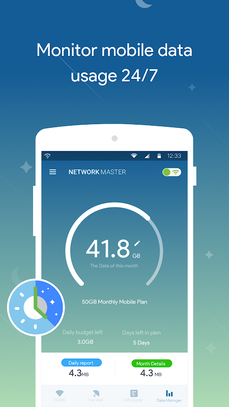 WiFi  Master- Mobile Data Saver 1.9.73 Screen 3