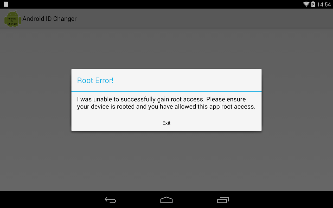 root device id changer 6.0.1 apk