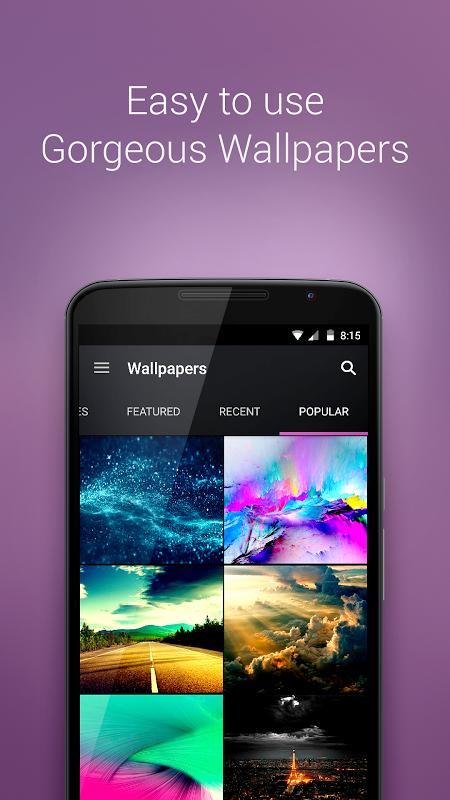 Android ZEDGEä‹¢ Ringtones & Wallpapers Screen 2