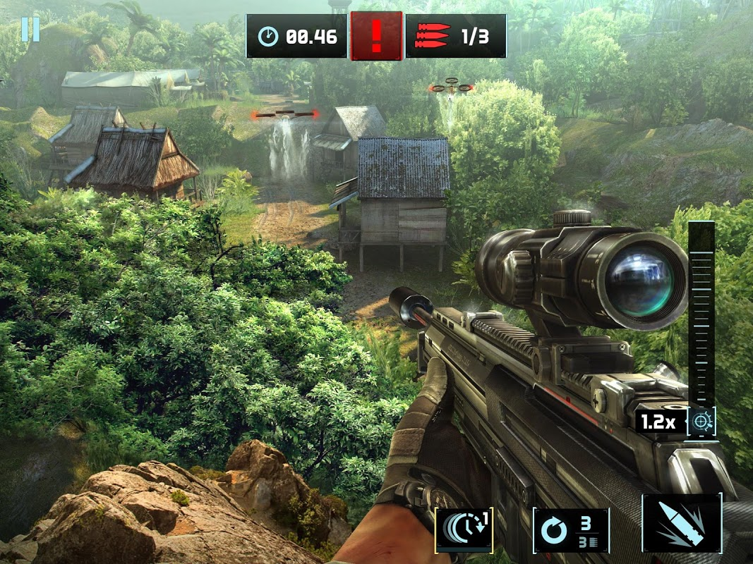 Android Sniper Fury: Top shooting game - FPS Screen 5