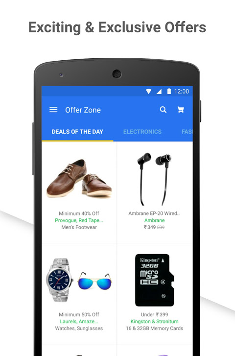 Android Flipkart Online Shopping Screen 3