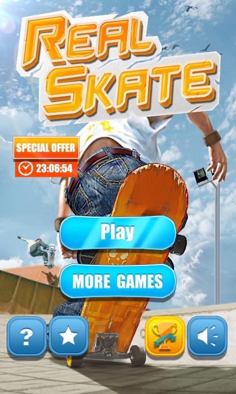 Android Real Skate 3D Screen 4