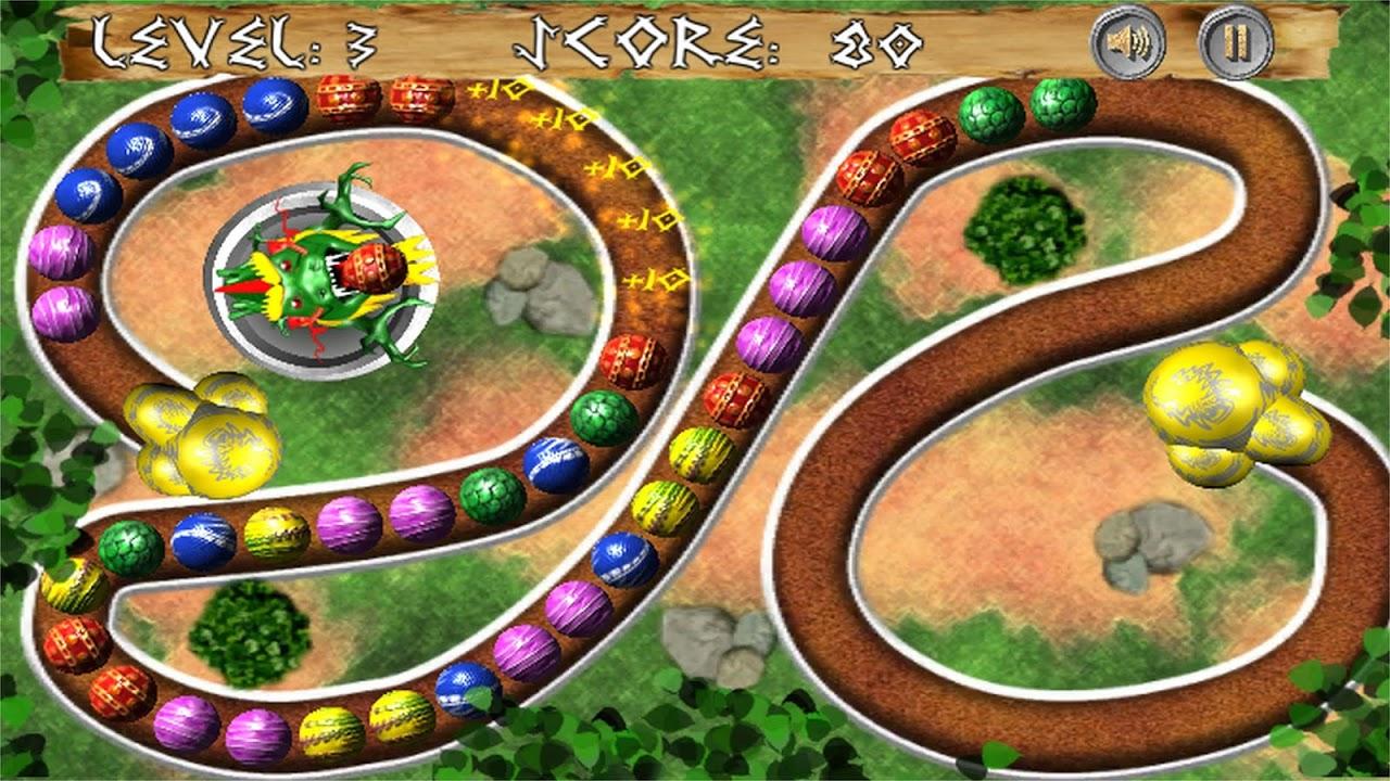 Android Dragon Zuma Ball Blast Screen 3