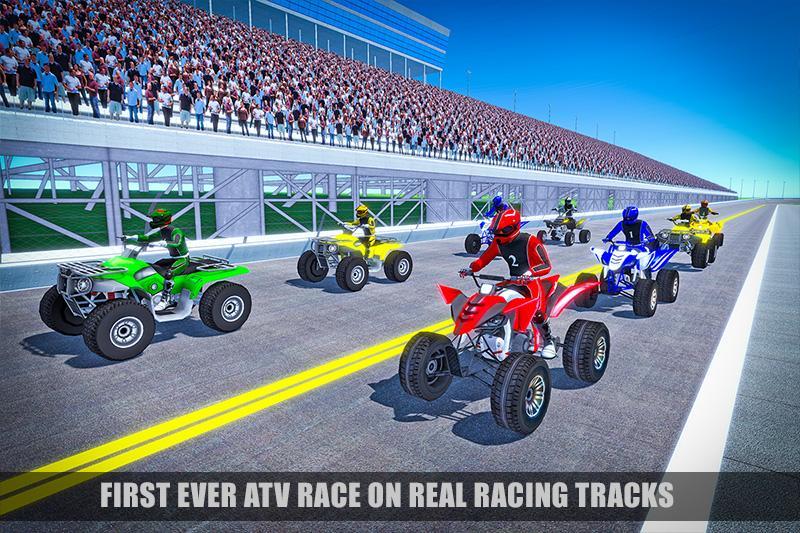 Android ATV Bike Racing 2018: Mega Tracks Screen 1