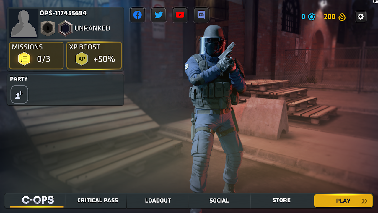 Android Critical Ops Screen 20