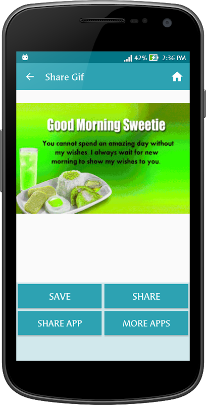 Android Gif Good Morning Messages Collection Screen 13