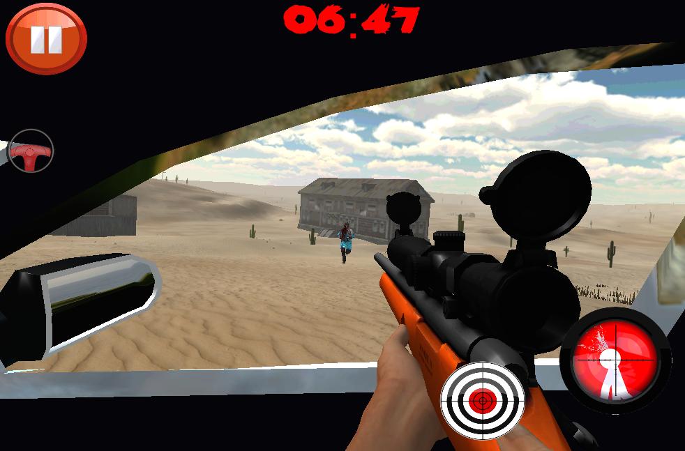 Android Desert Zombies War Screen 2